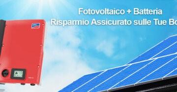 Batteria per Impianto Fotovoltaico