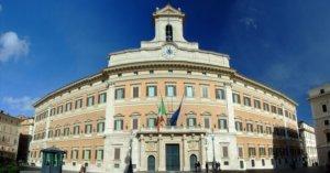 Bolletta Palazzo Montecitorio