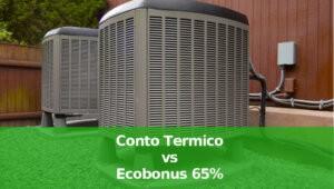 Conto Termico vs Ecobonus 65%: quale conviene per chi installa una pompa di calore per riscaldamento, una caldaia a pellet o a biomasse oppure una caldaia a metano a condensazione