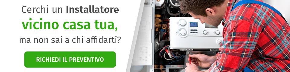 Richiedi preventivo Installatore caldaia a condensazione