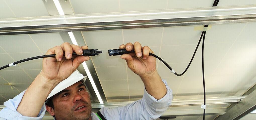 Collegamento alla Rete Impianto Fotovoltaico