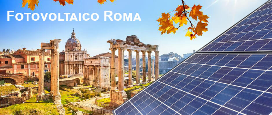 Installazione Impianti Fotovoltaici Roma