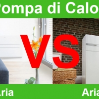 Pompa di Calore VS Aria-Aria Aria-Acqua