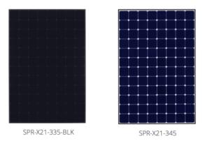 Moduli Fotovoltaici SunPower Serie X