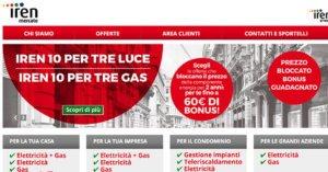 Offerte Luce e Gas Iren Mercato