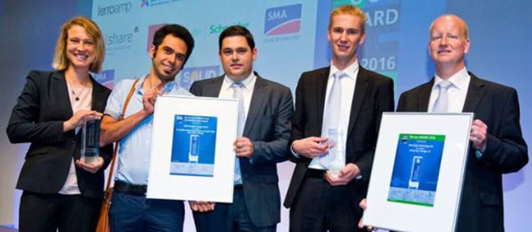 Inverter con Accumulo Integrato SMA premiati Lees Award