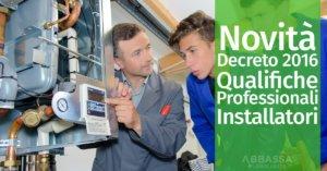 Qualifiche professionali degli installatori