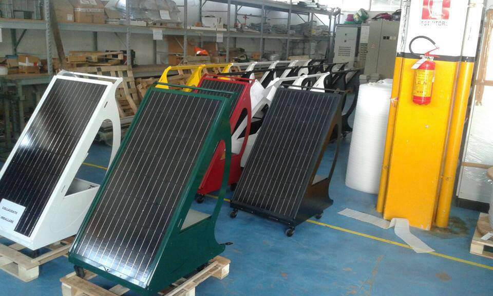 Modello Fotovoltaico da Balcone Pyppy