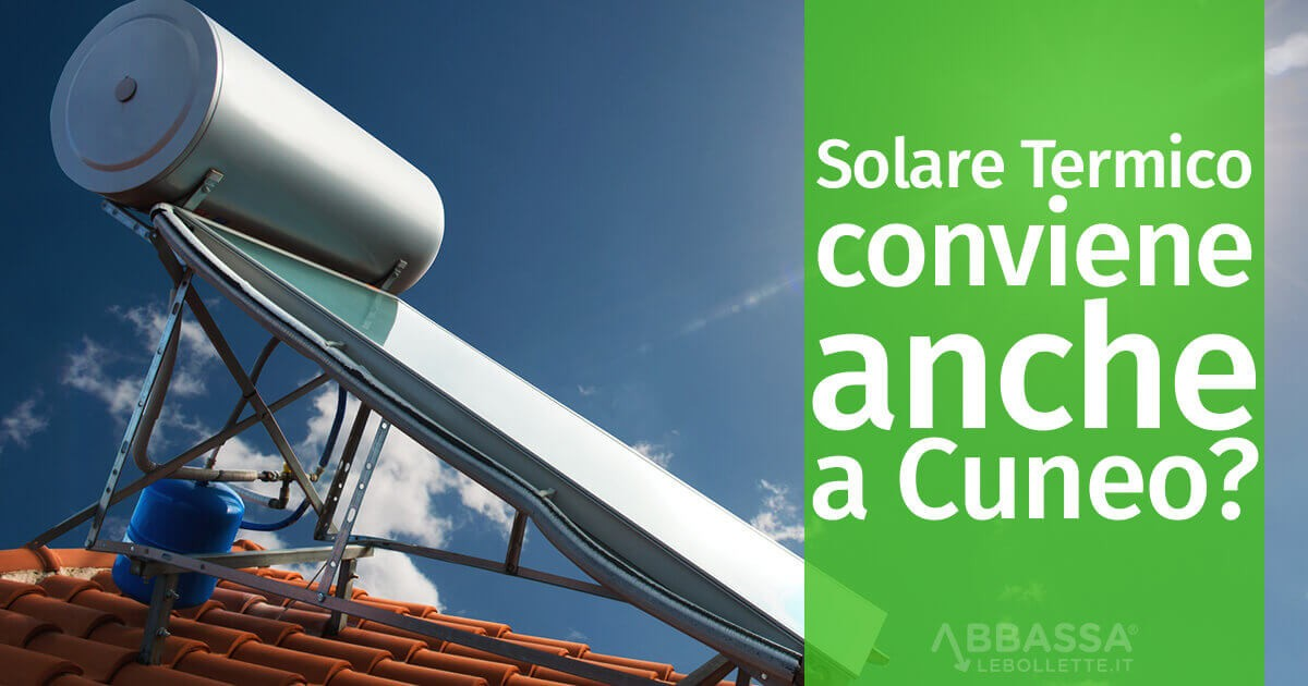 Ma il Solare Termico conviene anche a Cuneo?