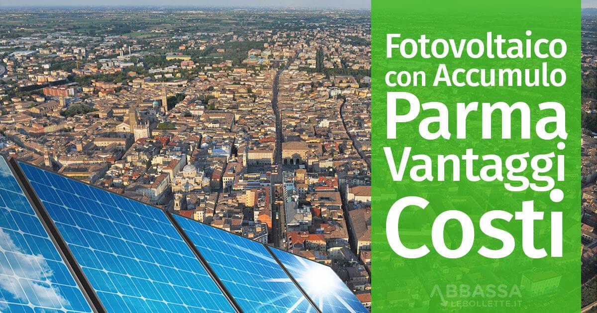 Fotovoltaico con Accumulo a Parma: Prezzi Installazione