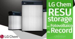 LG Chem RESU: lo storage per fotovoltaico da record