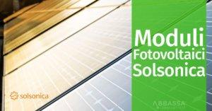 Moduli Fotovoltaici Solsonica