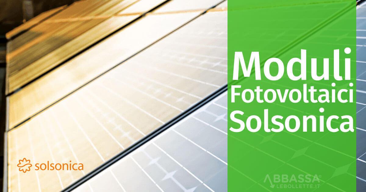 Moduli Fotovoltaico solsonica