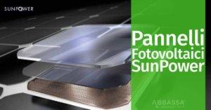 Pannelli Fotovoltaici SunPower