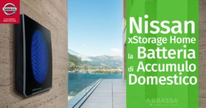 Nissan xStorage Home: la Batteria di Accumulo Domestico