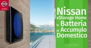 Nissan xStorage Home: la Batteria di Accumulo Domestico