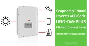 Nuovi Inverter UNO-DM-PLUS di ABB