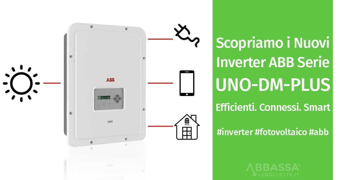 Nuovi inverter UNO-DM-PLUS ABB