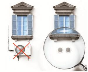 Condizionatori Fissi senza unità esterna