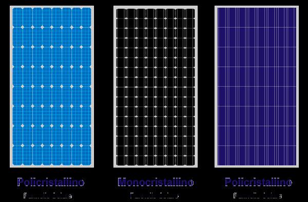 Pannello solare Monocristallino e Policristallino