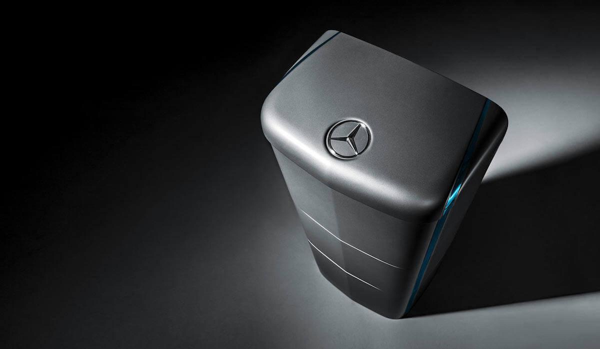 Accumulo Impianto Fotovoltaico Mercedes Benz Energy