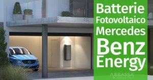 Batterie per Fotovoltaico: Mercedes Benz si lancia all'inseguimento di Tesla