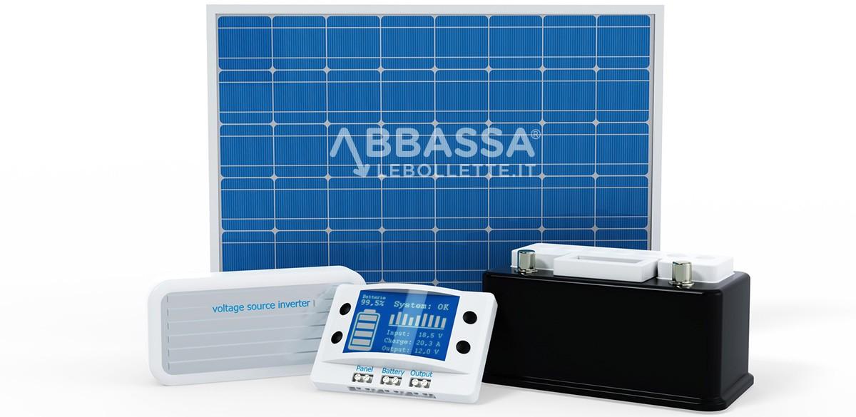 Componenti Kit Impianto Fotovoltaico