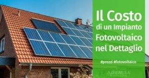 Il Costo di Un Impianto Fotovoltaico