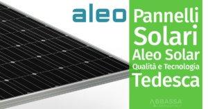 Pannelli Solari Aleo Solar: Qualità e Tecnologia Tedesca