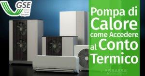 Pompa di Calore: come Accedere al Conto Termico