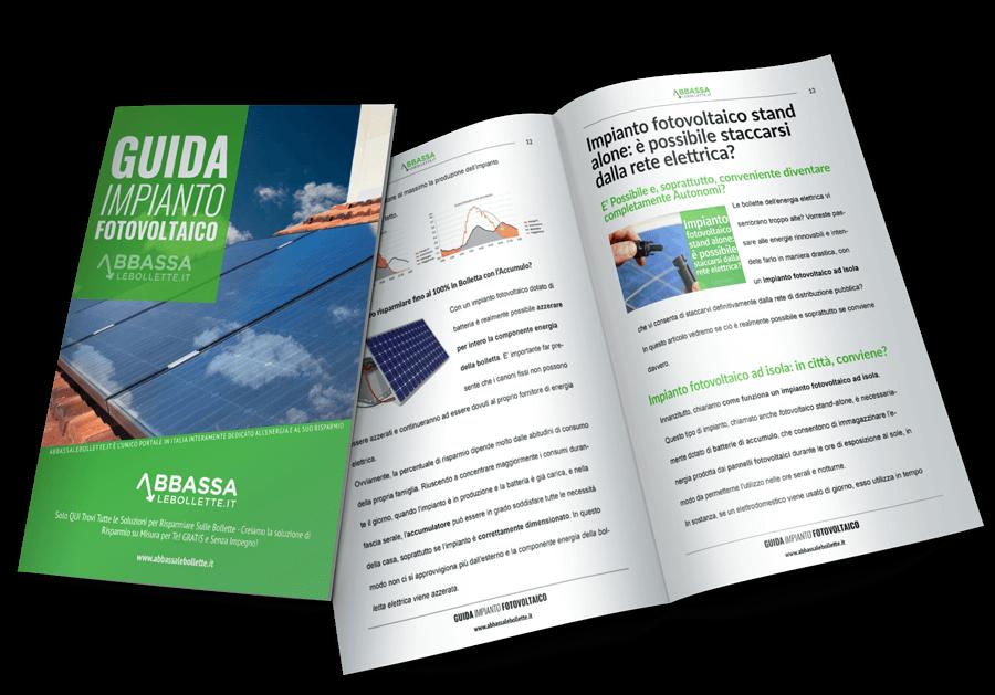 Guida PDF all'impianto fotovoltaico domestico