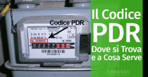 Il Codice PDR: Dove si Trova e a Cosa Serve