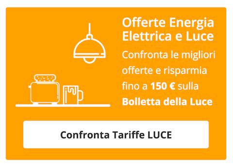 Compara le Migliori Tariffe Luce ed Energia Elettrica