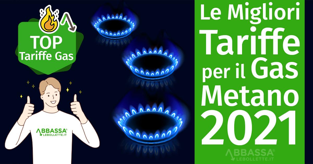 Le Migliori Tariffe per il Gas Metano 2021