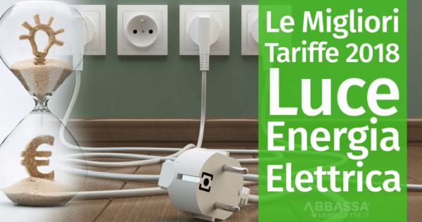 codici promozionali rilasciare informazioni su assolutamente alla moda Le Migliori Tariffe 2018 per la Luce e l'Energia Elettrica