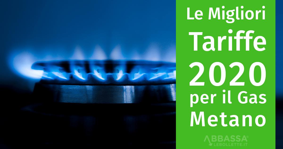 Le Migliori Tariffe per il Gas Metano 2020