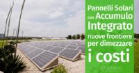 Pannelli Solari con Accumulo Integrato: nuove frontiere per dimezzare i costi