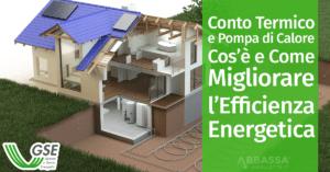 Conto Termico e Pompa di Calore: Cos'è e Come Migliorare l'Efficienza Energetica