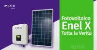 Fotovoltaico Enel X: Tutta la Verità