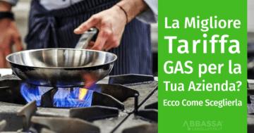 La migliore tariffa Gas Metano per Aziende e Partita IVA