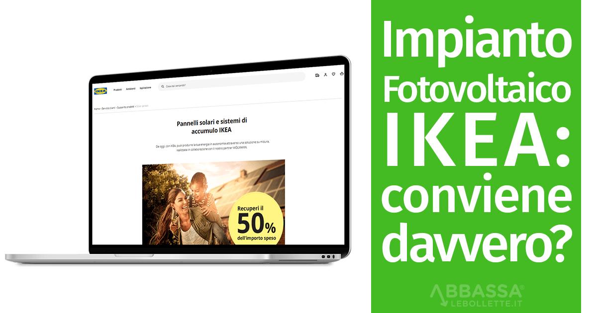 Impianto Fotovoltaico Ikea: conviene davvero?