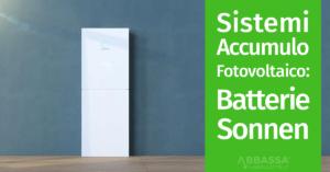 Sistemi accumulo batterie sonnen