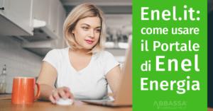 enel energia come usare area clienti su enel.it