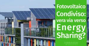 fotovoltaico condiviso vera via verso energy sharing