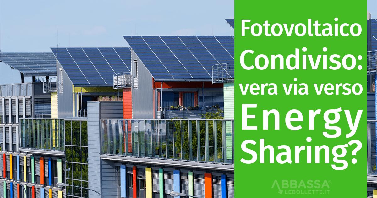 Il fotovoltaico condiviso: la vera via verso l'energy sharing?