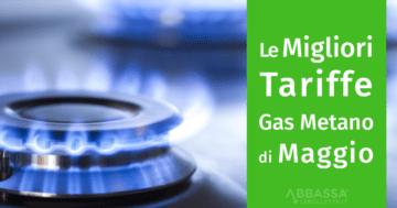migliori tariffe gas di maggio