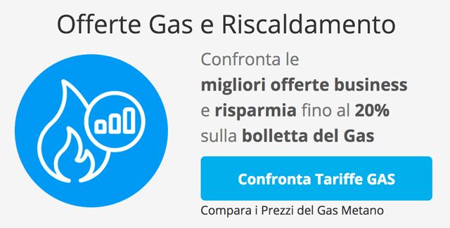 Confronta le Migliori Tariffe Gas Metano e Riscaldamento Aziendali e P.IVA