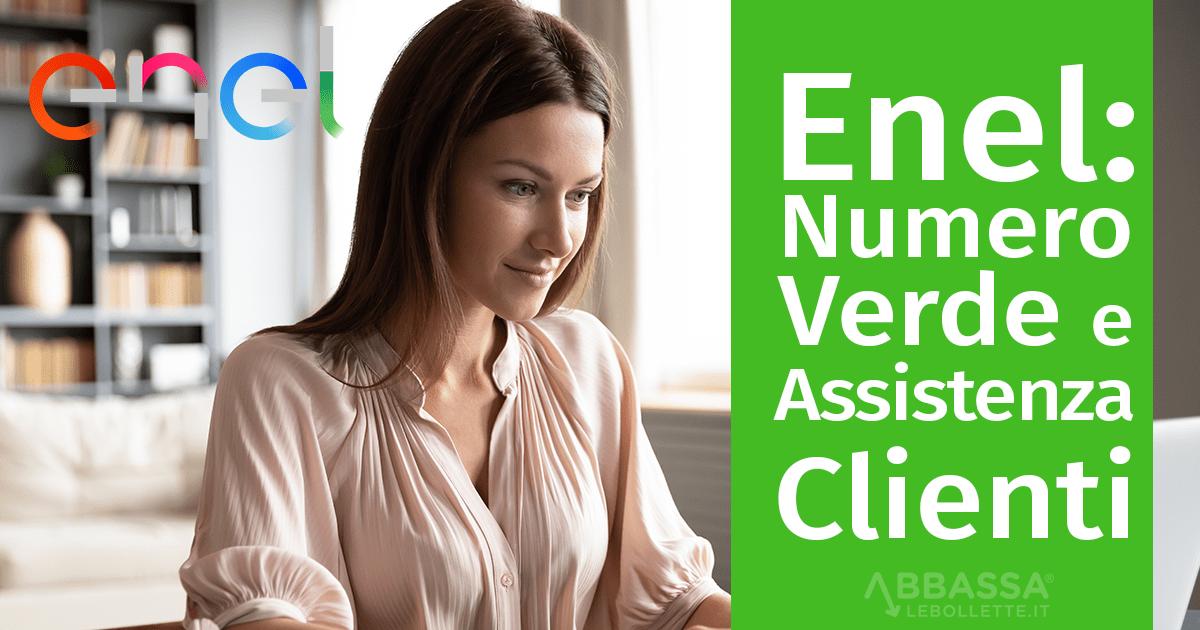 Enel: numero verde e assistenza clienti