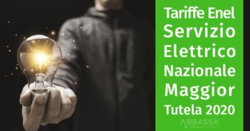Tariffe Enel Servizio Elettrico Nazionale Maggior Tutela 2020