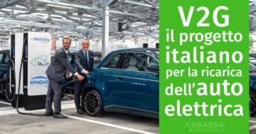 V2G Vehicle to Grid per la ricarica dell'auto elettrica e scambio energia con la rete